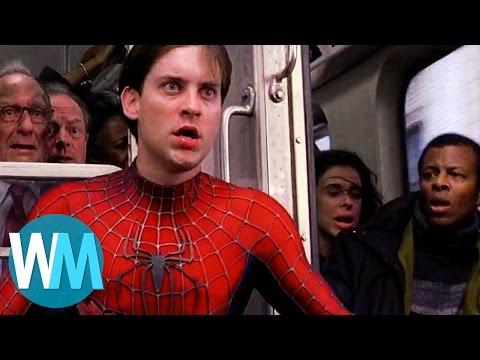 Top 10 Best Marvel Movie Action Scenes (видео)