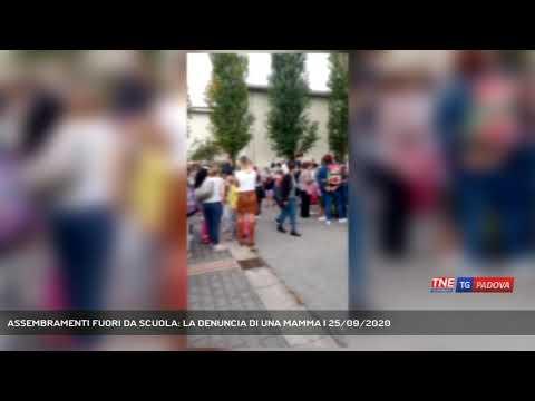 ASSEMBRAMENTI FUORI DA SCUOLA: LA DENUNCIA DI UNA MAMMA | 25/09/2020