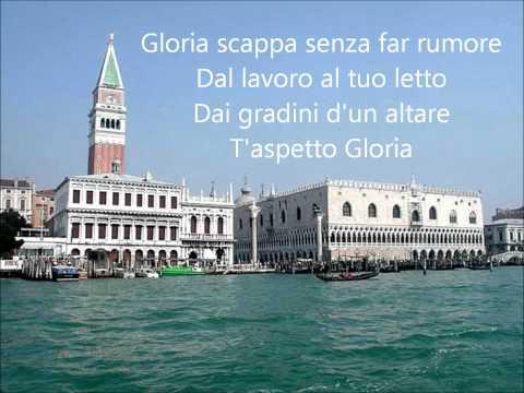 , title : 'Umberto Tozzi - Gloria (With Lyrics).wmv'