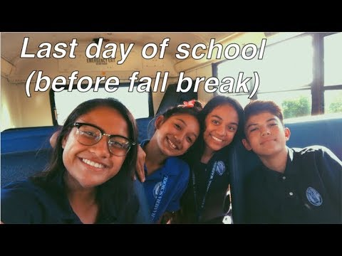 Graduation quotes - the last day of school (before fall break) vlog