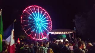 New Ferris Wheel Lighting Debuts at Adventureland's Oktoberfest Celebration