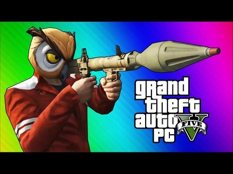 GTA 5 PC Online Funny Moments – Action Replay, Slow Motion, Highway Stunt!