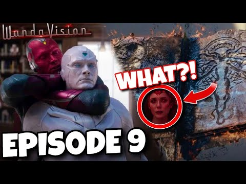 WANDAVISION Episode 9 Breakdown, Easter Eggs, End / Post Credits (Spoiler Review)