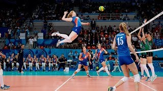 Video TOP 20 Legendary Women's Volleyball Spikes Of All Time (HD) MP3, 3GP, MP4, WEBM, AVI, FLV Juli 2018