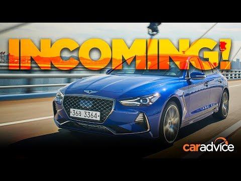 CarAdvice.com 제네시스 G70