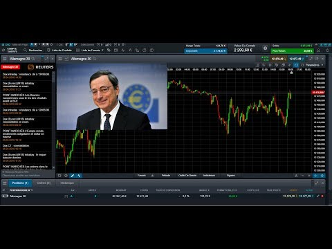 Live Trading BCE : Conférence de Presse de Mario DRAGHI du 26/04/2018 (видео)