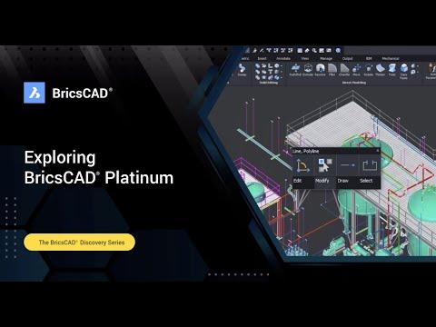 Exploring BricsCAD Platinum l BricsCAD Discovery Webinar