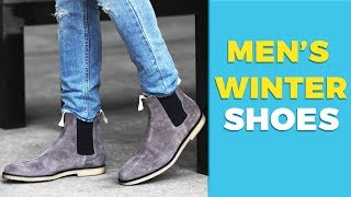 Video 6 Types of Shoes Every Guy Needs this Winter | Best Winter Shoes | Alex Costa MP3, 3GP, MP4, WEBM, AVI, FLV Desember 2018