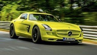 Record de Velocidad del Mercedes-Benz SLS AMG Electric Drive