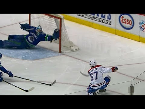 Video: Canucks' Nilsson robs Pacioretty with first save of the game