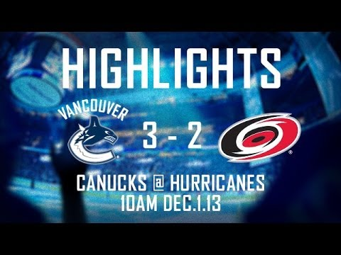 Canucks - The Vancouver Canucks survived a wild start to the second period and beat the Carolina Hurricanes 3-2 on Sunday. Ryan Kesler with two goals and Eddie Lack ce...