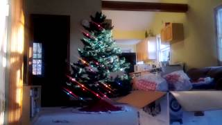 Time-lapse Christmas Tree 2012