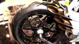 9. 2017 MV Agusta F3 675 RedWhite Special Premium Rare Features Edition First Impression Walkaround HD