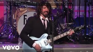 Foo Fighters - Big Me (Live on The Late Show)