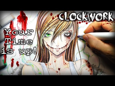 "Clockwork ""Your Time Is Up"" STORY - Creepypasta + Drawing"