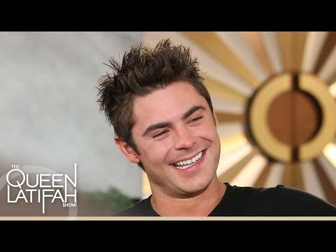 Zac Efron on Working with Queen Latifah on 'Hairspray' | The Queen Latifah Show