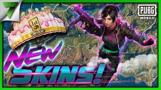NEW SEASON 6 SKINS GAMEPLAY! SEASON 5 IS ENDING!! | PUBG Mobile
