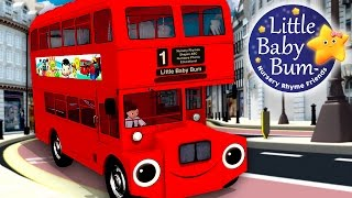 Wheels On The Bus | Part 6 | Nursery Rhymes | HD Version from LittleBabyBum