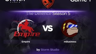 mBusiness vs Empire, game 1