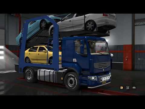 Renault Premium Car Transporter v1.0