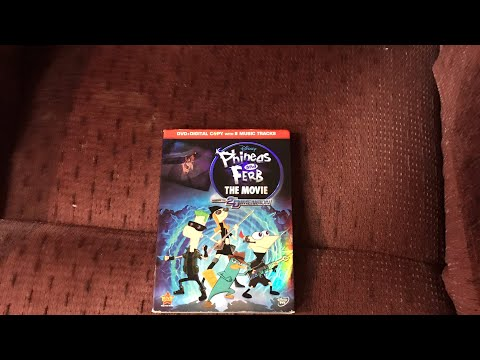 """Opening to """"Phineas and Ferb: Across the 2nd Dimension"""" 2011 DVD"""