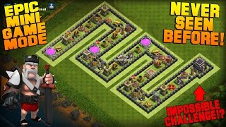 Video Clash of Clans | TH9 Mini Game Base | Snake | Epic Game Mode + Funny Fails [Friendly Battle 2016] MP3, 3GP, MP4, WEBM, AVI, FLV Juni 2017