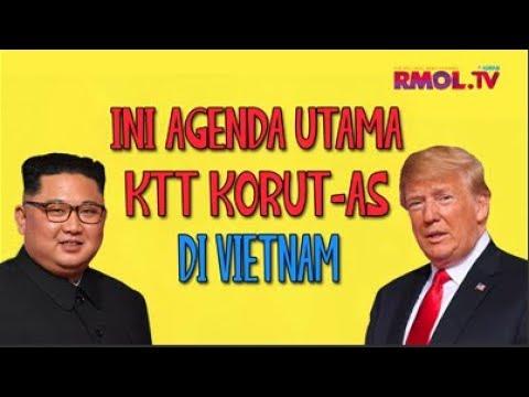 Ini Agenda Utama KTT Korut-AS Di Vietnam