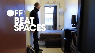 THE SMALLEST APARTMENT IN AMERICA - Luke Clark Tyler shows how he designed the interior of his 78 sq. ft. New York ...