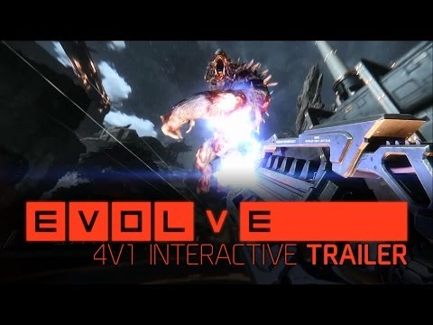 Youtube - The hunt is on. Experience the thrill of 4v1 from every perspective in an interactive, multi-channel trailer featuring commentary by Aaron