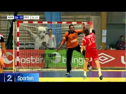 video que muestra un penalty en balonmano lanzado de una forma diferente para engañar al portero