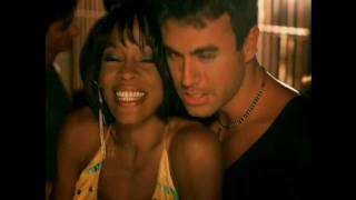 Whitney Houston videoklipp Could I Have This Kiss Forever (feat. Enrique Iglesias)