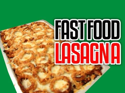 Fast Food Lasagna – Epic Meal Time