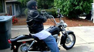 5. My Suzuki GZ 250- Motorcycle Ride Pt 1