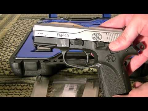 fnp40 - Just a short video of a new handgun i purchased. FNP 40 S&W it comes with three mags and two more for free.