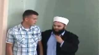 Shqiptari Krishter pranon Islamin te Hoxhë Fatmir Latifi