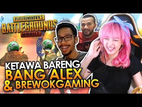 KETAWA ALA BANG ALEX - PUBG Mobile Collab #5 (FT. BANG ALEX & BREWOKGAMING)