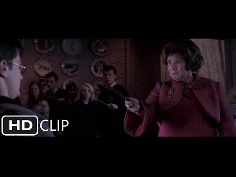 Umbridge Attempts to Crucio | Harry Potter and the Order of the Phoenix