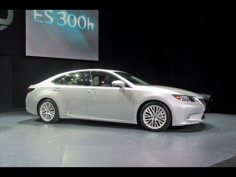 Lexus  2013 Lexus ES -- 2012 New York Auto Show