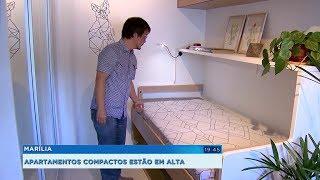 Apartamentos compactos viram tendência e conquistam mercado no interior paulista