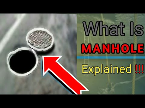 What is Manhole & How It Works in Sewer Lines. FULL EXPLAINED IN HINDI