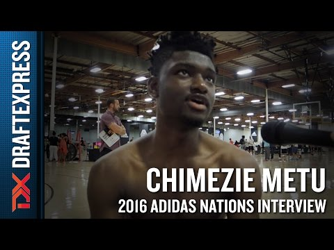 Chimezie Metu Interview from 2016 Adidas Nations
