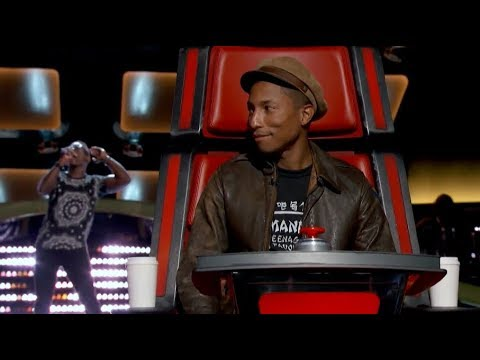 "The Voice Blind Audition - Brian Nhira: ""happy"""