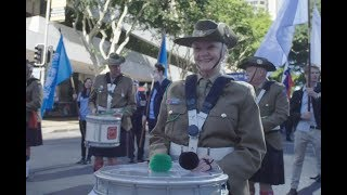 UN Peacekeepers March - Brisbane 2018