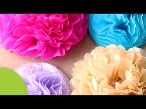 Flores de Papel - Mira estas otras flores de papel • http://bit.ly/1ym7c9F Suscríbete para más ideas • http://bit.ly/PonteCrafty -------- ¡Sígueme en mis redes sociales! ♤ INSTAGRAM http://instagram.com...
