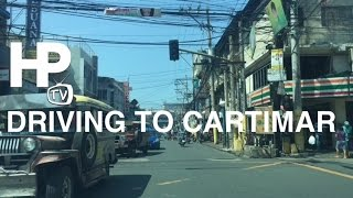Pasay City Philippines  City pictures : Driving to Cartimar Market in Pasay City via Arnaiz Avenue Taft Avenue by HourPhilippines.com