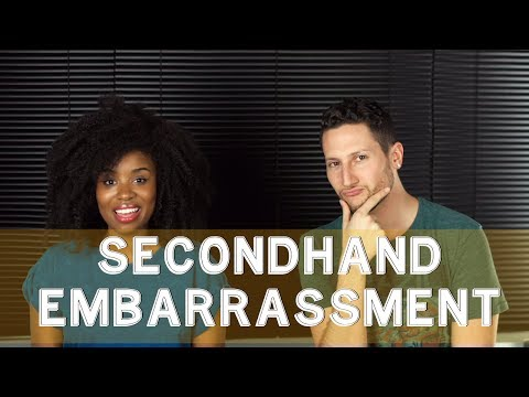 embarrassment - The Secondhand Embarrassment Challenge If you lol'd, click-to-tweet: http://ctt.ec/8p845 Check out the sketch we did on Nic's channel: http://bit.ly/typesdru...
