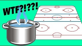 HOT WATER FREEZES FASTER IN AN NHL RINK? WTF???