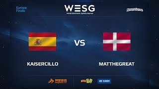 Kaisercillo vs MatTheGreat, game 1