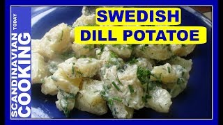 Recently, I went to a Midsummer celebration.  We danced aroundthe Maypole (majstång or midsommarstång) and had traditional dishes.  It made me think to make the Swedish Dill Potato salad side dish.  It is perfect timing as I have so much dill, parsley and chives in my garden right now.  😀 This dish  goes with any summer dish such as grilled chicken, fish and even hotdogs.  Below the my recipe  🍽️ 🎈 🎉🌼 Ingredients 1 pound freshly boiled potatoes, cut into inch wide pieces1/2 tablespoon freshly ground white pepper3 heaping tablespoons chopped dill, parsley and/or chivesBéchamel sauce:1 tablespoon all-purpose flour1 tablespoon butter1 1/3 cups whole milk or half milk/half creamsalt & pepper to tasteInstructions:Melt 1 tablespoon of butter in a saucepan over medium heat.Add the flour & combine.Add cream or milk and whisk together.Bring to boil and let it boil for 2-3 minutes until the sauce thickens.Cut potatoes into inch wide pieces.Add salt and pepper to taste.Add the pre-cooked potatoes and heat through.Add half of the herbs.❄️To get complete recipe with instructions and measurements, check out our bloghttps://scandinavtoday.blogspot.com/2017/07/how-to-make-swedish-dill-potatoe-salad.html❄️We hope you enjoyed our video and recipe!  ❄️ Give us thumbs up if you like this video & subscribe for more videos. 👍👍 Thanks! Tak!❄️For notifications of our video release click on the bell (lower left of the video)❄️ SUBSCRIBE to learn how to make Scandinavian dishes. https://www.youtube.com/user/ScandinavianToday❄️ Our Scandinavian Today Cooking Show includes Nordic recipes including Danish, Norwegian, Swedish, Icelandic and Finnish. You might be interested in other Nordic cooking videos includingÆbleskiver ♥ How to Make Danish Aebleskiver with Apple Filling  ❅https://youtu.be/mb8Y9IyfMS4How to make Swedish Glogg for Christmas & cold evenings! (glögg or mulled wine recipe) https://youtu.be/uDJNn6-nZFE?list=PLa1Ox7dzyyvmNEm41VkP1FP_SPhgeUkzSHow to make our easy Danish cucumber sal
