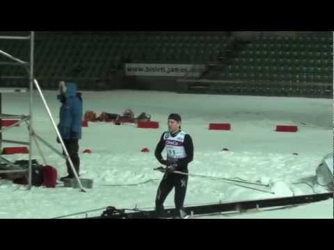 Världsrekord i 100 m skidor